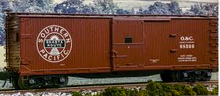 """Atlas O  PDT exclusive SP  """"Shasta Route""""  double sheathed (wood) box car"""