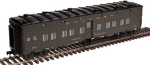 Atlas O 6 car troop train, 3 rail