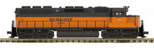 MTH Premier Milwaukee Road SD-45 diesel, 2 rail, p2.0, sound, cruise, exhaust