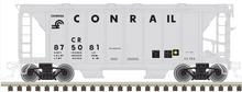 Atlas O Conrail ACF 34' AC-2 Covered Hopper car, 3 rail or 2 rail