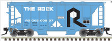 Atlas O Rock Island (The Rock) ACF 34' AC-2 Covered Hopper car, 3 rail or 2 rail