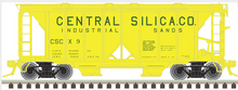 Atlas O Central Silica ACF 34' AC-2 Covered Hopper car, 3 rail or 2 rail