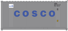 Package of 2 Atlas O Cosco 20' containers