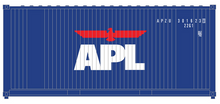 Package of 2 Atlas O  APL  20' containers