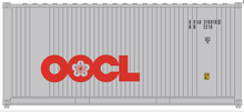 Package of 2 Atlas O  OOCL 20' containers