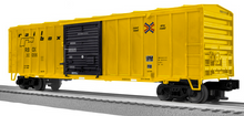 Lionel/Weaver Railbox  50'  modern box car, 3 rail or 2 rail diecast tks/couplers