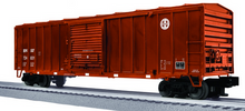 Lionel/Weaver BNSF  50'  modern box car, 3 rail or 2 rail diecast tks/couplers