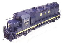 Atlas O B&O  GP-35,  3 rail, TMCC