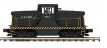 MTH Premier US Army GE 44ton diesel, 3 rail, Proto 3.0