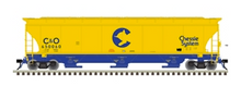 Pre-order for Atlas O Chessie System  trinity 5161  covered hopper car, 3 rail or 2 rail