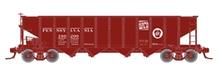 """Atlas O PRR """"coal goes to war"""" H21a 4 bay hopper, 3 rail"""