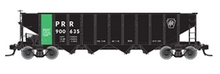 Atlas O PRR/PC ore service  H21a 4 bay hopper, 3 rail or 2 rail