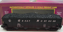 MTH Premier Great Northern 4-Bay Hopper w/ Coal Load, 3 rail