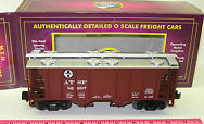 MTH Premier Santa Fe PS-2 34' Covered Hopper, 3 rail