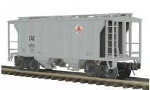 MTH Premier Lehigh New England PS-2 34' Covered Hopper, 3 rail