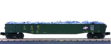 MTH Premier Chicago Northwestern Mill Gondola Car with Junk Load, 3 rail