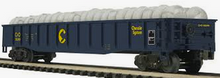 MTH Premier Chessie (C&O)  Mill Gondola Car w/ Coiled Wire Load, 3 rail