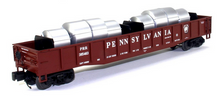 MTH Premier Pennsylvania Mill Gondola Car w/ Coiled Steel Load, 3 rail