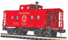 MTH Premier Seaboard Air Line  northeastern style center cupola caboose , 3 rail