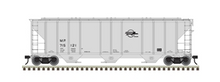 Pre-order for Atlas O Missouri Pacific PS-4427  covered hopper, 3 rail or 2 rail