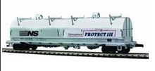MTH Premier Norfolk Southern Coil Car, 3 rail