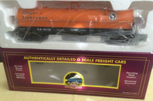 MTH Premier Great Northern Coil Car (Orange), 3 rail