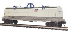 MTH Premier Union Pacific Coil Car (Silver), 3 rail