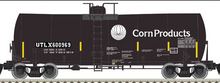 Atlas O Corn Products UTLX 17,600 gal tank car, 3 rail