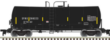 Atlas O SYRX 17,600 gal tank car, 3 rail