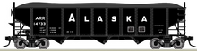Pre-Order for Atlas O Alaska RR 3 bay 40' hopper car