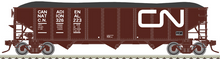 Pre-Order for Atlas O CN (1970's noodle) 3 bay 40' hopper car