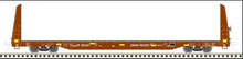 Pre-order for Atlas O UP (with yellow stripes)   62' Bulkhead Flat car, 3 rail or 2 rail
