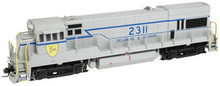 Atlas O D&H (gray)  U23b diesel, 3 rail, tmcc