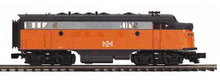 MTH Premier  B&LE F-7A  diesel, 3 rail, w/Sound and smoke. proto 3.0