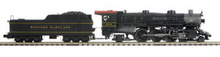 MTH Premier WM Heavy Pacific  steam loco, 3 rail, P3.0, smoke, cruise