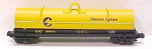 MTH Premier Chessie  Coil Steel Car, 3 rail