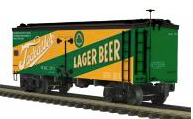 MTH Premier Tadcaster Beer 36' wood reefer, 3 rail