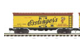 MTH Premier Esslinger  Beer 36' wood reefer, 3 rail