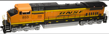Atlas O BNSF Dash 8-40CW, 3r, conventional operation,