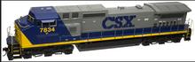 Atlas O CSX Dash 8-40CW, 2 rail, DC,