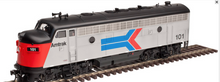 Atlas O Amtrak F-7A  non-powered diesel , 3 rail