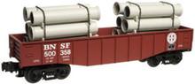 Case of 4 Atlas O Industrial Rail BNSF  gondola, 3 rail, 027 size