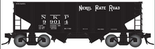 Pre-order for Atlas O Nickel Plate Road USRA 2 bay hopper car,  3 rail or 2 rail
