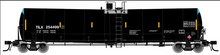 pre-order for Atlas O Trinity Leasing (TILX) crude Oil 25,500 gal tank car, 2 rail or 3 rail