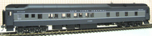 Golden Gate Depot NYC 2 tone gray 8-1-2 heavyweight  sleeper, 2 rail or 3 rail