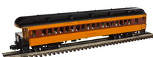 Pre-order for Golden Gate  Depot MILW  85' Heavyweight Observation car, 3 rail or 2 rail