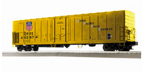 Lionel / Weaver UPFE (yellow) 57' Mechanical Reefer, 3 rail or 2 rail  diecast trucks/couplers