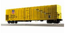 Lionel / Weaver UPFE (yellow) 57' Mechanical Reefer, 3 rail or 2 rail  diecast trucks/couplers