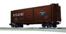 Lionel / Weaver Reading 40' PS-1 box car, 3r or 2r, PLASTIC trucks/couplers
