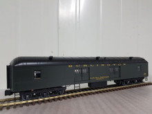 Golden Gate Depot Burlington (CB&Q)  70' harriman style baggage car, 3 rail